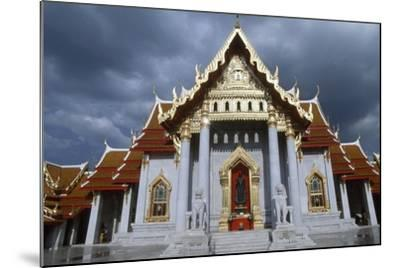 The Wat Benchamabophit or the Marble Temple in Bangkok, Thailand, 20th Century--Mounted Giclee Print
