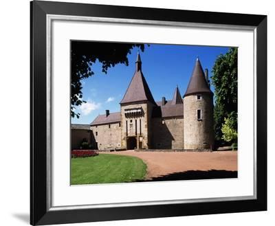 South Facade of Chateau De Corcelles, Corcelles-En-Beaujolais, Rhone-Alpes, France--Framed Giclee Print