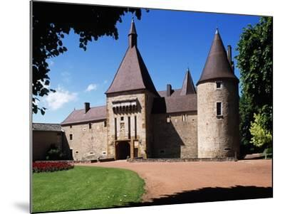 South Facade of Chateau De Corcelles, Corcelles-En-Beaujolais, Rhone-Alpes, France--Mounted Giclee Print