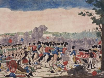 Battle of Millesimo, First Italian Campaign, April 13-14, 1796, French Revolutionary Wars, Italy--Framed Giclee Print
