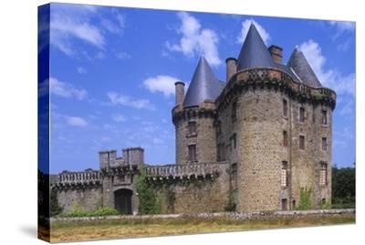 France, Brittany, Ille-Et-Vilaine, Broualan Landal Castle--Stretched Canvas Print