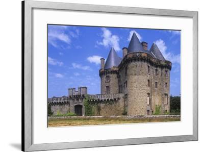 France, Brittany, Ille-Et-Vilaine, Broualan Landal Castle--Framed Giclee Print