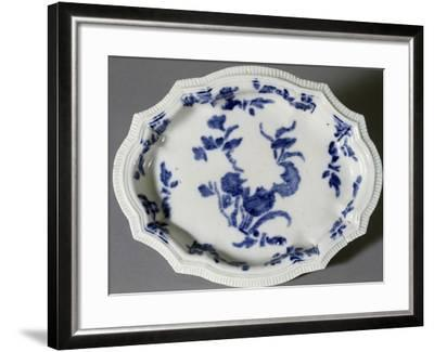 Plate Decorated with Prints, Circa 1745--Framed Giclee Print