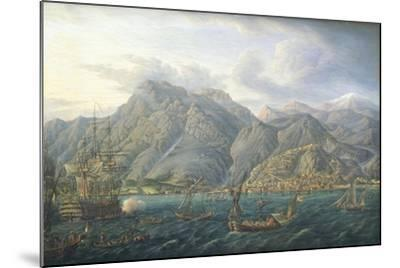 View of Kotor by Jb Genillion, Montenegro 16th Century--Mounted Giclee Print