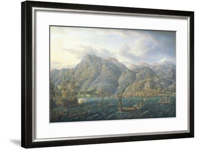View of Kotor by Jb Genillion, Montenegro 16th Century--Framed Giclee Print