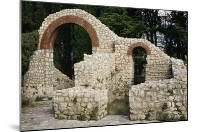 Ruins of the Roman Villa of Mogorjelo, Bosnia and Herzegovina, Roman Civilization--Mounted Giclee Print