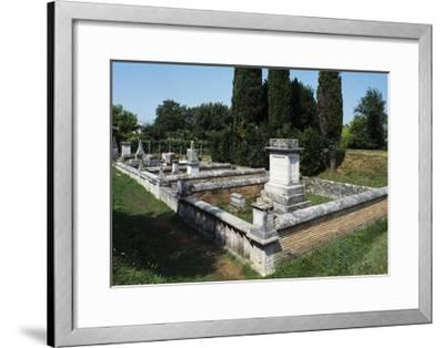 Roman Burial Ground, Aquileia, Friuli -Venezia Giulia, Italy, 1st-4th Century--Framed Giclee Print
