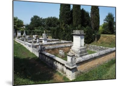 Roman Burial Ground, Aquileia, Friuli -Venezia Giulia, Italy, 1st-4th Century--Mounted Giclee Print