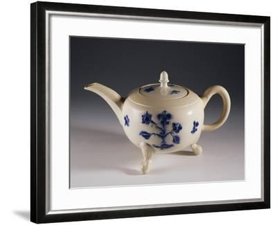 Teapot with Oriental-Inspired Floral Decorations, Ca 1740--Framed Giclee Print
