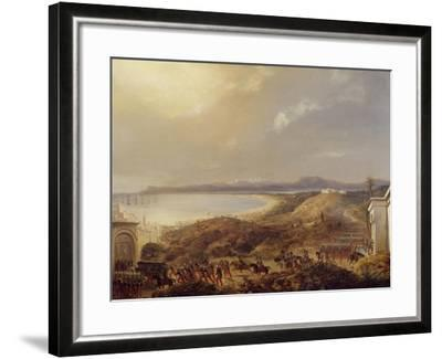 French Troops Led by Bourmont Entering Algiers, July 5, 1830, During Colonial Wars, Algeria--Framed Giclee Print