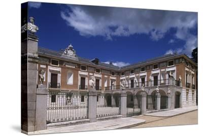 Spain, Community of Madrid, Aranjuez, Royal Farmer's Cottage--Stretched Canvas Print