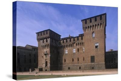 Italy, Lombardy Region, Castle of San Giorgio Di Mantova--Stretched Canvas Print