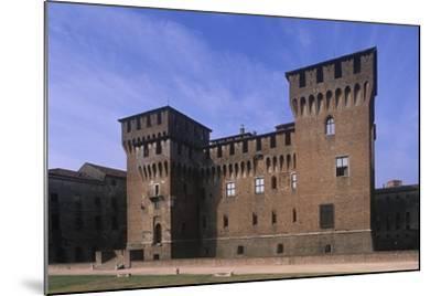 Italy, Lombardy Region, Castle of San Giorgio Di Mantova--Mounted Giclee Print