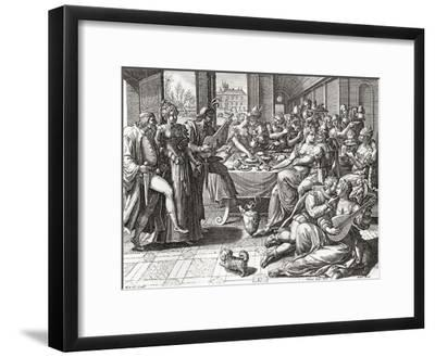 Debauchery and Licentiousness in the 16th Century--Framed Giclee Print