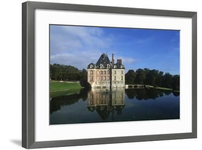 France, Ile-De-France, Ormesson-Sur-Marne, Castle of Ormesson, 16th Century--Framed Giclee Print
