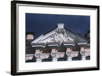 Russia, Saint Petersburg, Historic Centre, Stroganov Palace Along Moika River--Framed Giclee Print