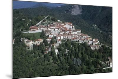 Italy, Lombardy, Varese, Sacro Monte, Aerial View--Mounted Giclee Print