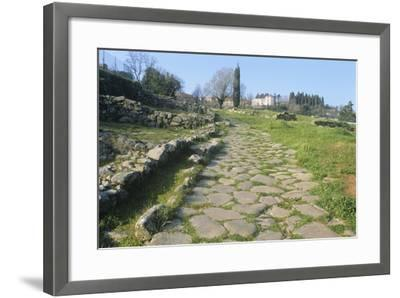 Italy, Tuscany, Vetulonia, Etruscan Necropolis--Framed Giclee Print