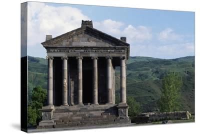Pagan Temple Dedicated to Mithras, Garni, Armenia--Stretched Canvas Print