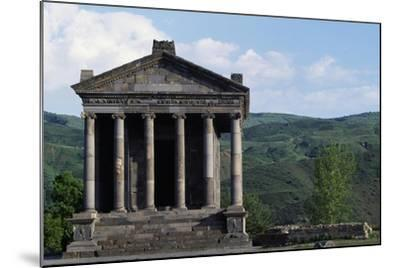 Pagan Temple Dedicated to Mithras, Garni, Armenia--Mounted Giclee Print