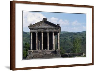 Pagan Temple Dedicated to Mithras, Garni, Armenia--Framed Giclee Print
