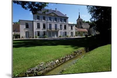 View of Chateau De Salans, Franche-Comte, France--Mounted Giclee Print