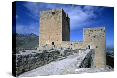 View of Saint Catalina's Castle, Jaen, Andalusia, Spain, 13th-14th Century--Stretched Canvas Print