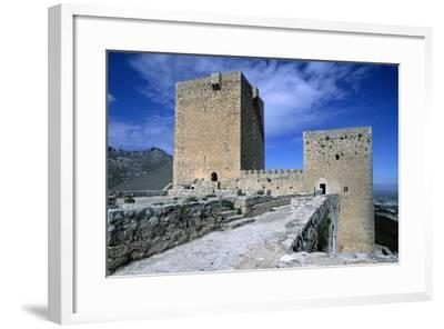 View of Saint Catalina's Castle, Jaen, Andalusia, Spain, 13th-14th Century--Framed Giclee Print