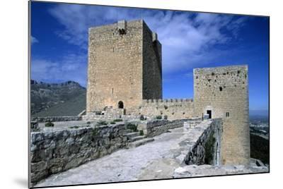 View of Saint Catalina's Castle, Jaen, Andalusia, Spain, 13th-14th Century--Mounted Giclee Print