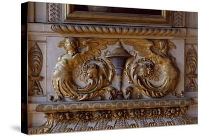 Interior Decoration, Sully Palace, Paris, France--Stretched Canvas Print