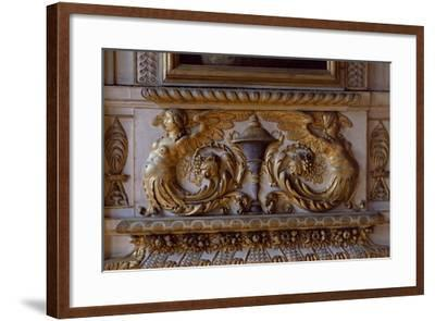 Interior Decoration, Sully Palace, Paris, France--Framed Giclee Print
