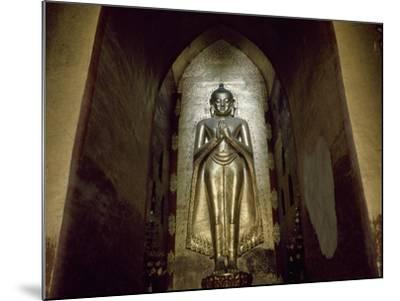 Myanmar, Bagan, Divinity Statue in Ananda Temple, 11th Century--Mounted Giclee Print