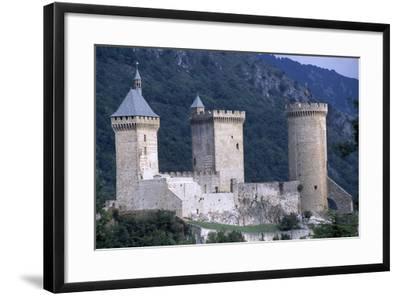 Foix Castle, Midi-Pyrenees. France, 11th-15th Century--Framed Giclee Print