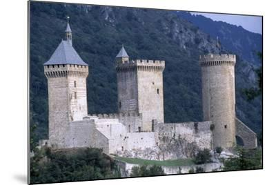 Foix Castle, Midi-Pyrenees. France, 11th-15th Century--Mounted Giclee Print
