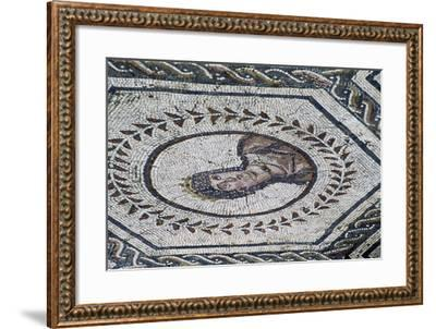 Venus, Detail from a Mosaic Dedicated to the Planetary Deities--Framed Giclee Print
