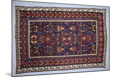 Rugs and Carpets: Azerbaijan - Bidjov Carpet--Mounted Giclee Print
