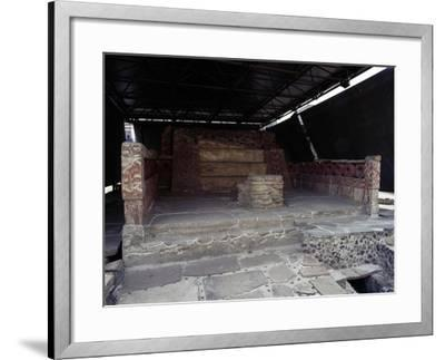 Northern Red Shrine, Templo Mayor, Mexico City, Mexico, Aztec Civilization, Ca 1500--Framed Giclee Print