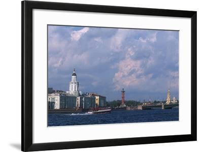 Russia, Saint Petersburg, Historic Centre, Vasilievsky Island--Framed Giclee Print