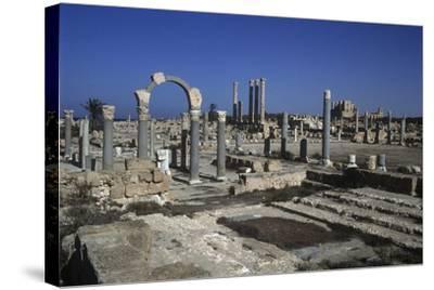 Ruins of Sabratha--Stretched Canvas Print