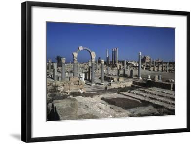 Ruins of Sabratha--Framed Giclee Print