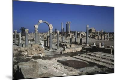 Ruins of Sabratha--Mounted Giclee Print