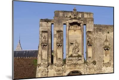 Ruins at Entrance of Nantouillet Castle, Ile-De-France--Mounted Giclee Print