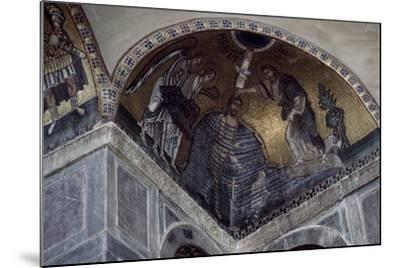 Mosaic of Baptism of Christ in Hosios Loukas Monastery, Greece, Founded in Early 10th Century--Mounted Giclee Print