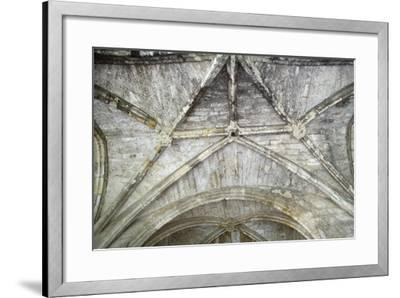 Cross Vaults, Detail from Cloisters of Narbonne Cathedral, Narbonne, Languedoc-Roussillon--Framed Giclee Print