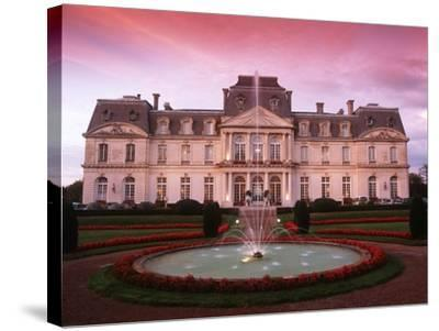 France, Loire Valley, Artigny Castle--Stretched Canvas Print