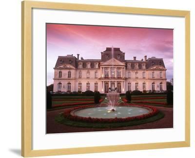 France, Loire Valley, Artigny Castle--Framed Giclee Print