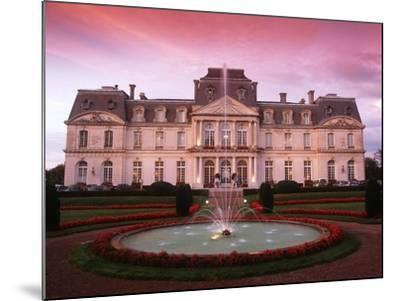 France, Loire Valley, Artigny Castle--Mounted Giclee Print