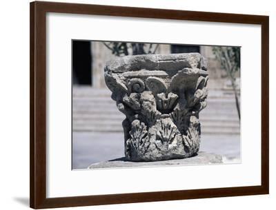 Corinthian Capital in Forum of Amman, Jordan AD--Framed Giclee Print