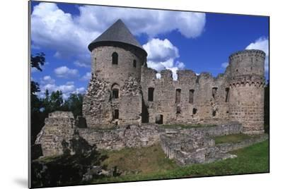 Latvia, Vidzeme, Cesis, Ruins of 14th Century Castle--Mounted Giclee Print