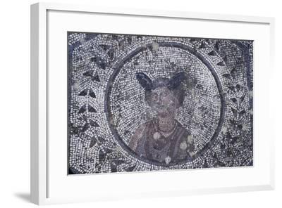 Spain, Andalusia, Carmona, Roman Mosaic in House of Planetarium, Detail--Framed Giclee Print